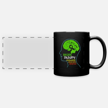 Injury Brain Injury - Full Color Panoramic Mug