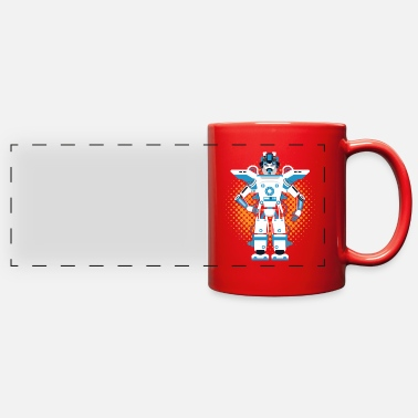 Robot Robots and robotics - Full Color Panoramic Mug