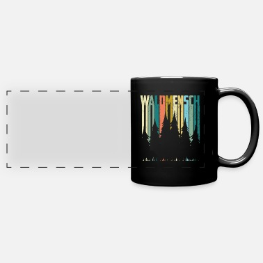 Forest THE FOREST MAN IN THE FOREST - Full Color Panoramic Mug