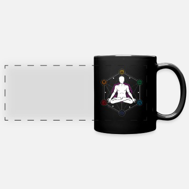 Spiritual Yoga Chakra , Mindful Spiritual Buddhism Giftidea - Full Color Panoramic Mug