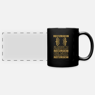 Code Recursion | Programming - Full Color Panoramic Mug
