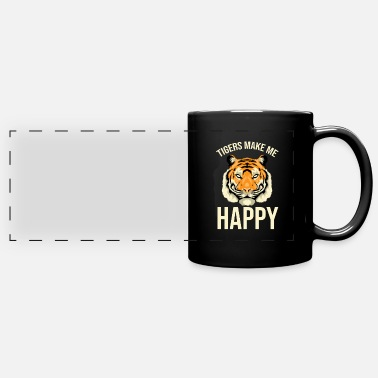 Christmas Tiger Head - Full Color Panoramic Mug