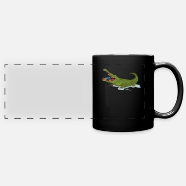 Motion Planking In A Reptile for Planking Gym Lover - Full Color Panoramic Mug