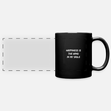 Happiness Happy Happiness Happy Love Happy - Full Color Panoramic Mug
