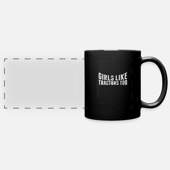 Field Mugs & Drinkware - Farmer - Full Color Panoramic Mug black