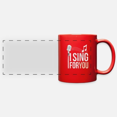Singer Singer - Full Color Panoramic Mug