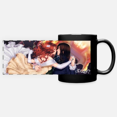 Love Is It Love? Nicolae Lovers - Full Color Panoramic Mug