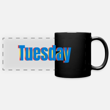 Thursday Tuesday - Full Color Panoramic Mug