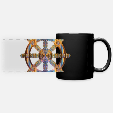 Wheel wheel - Full Color Panoramic Mug