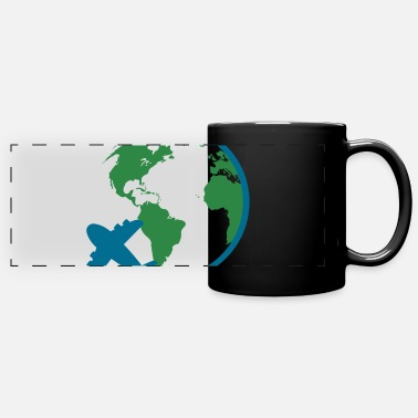Travel Agent world travel - Full Color Panoramic Mug