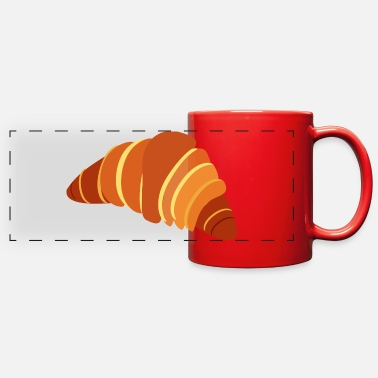 Strudel Croissant - Full Color Panoramic Mug
