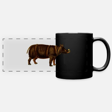 nashorn rhinoceros rhino36 - Full Color Panoramic Mug