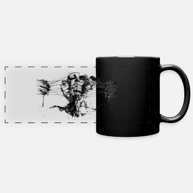 Miscellaneous Abstract Drawing - Full Color Panoramic Mug