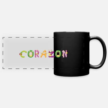 Corazon Corazon - Full Color Panoramic Mug