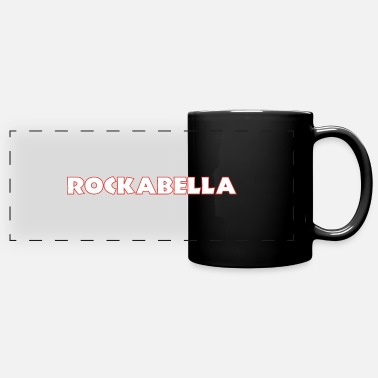 Burlesque ROCKABELLA - Full Color Panoramic Mug