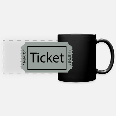 Tickets ticket - Full Color Panoramic Mug