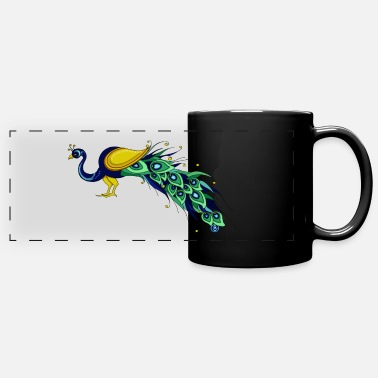 EWD Peacock - Full Color Panoramic Mug