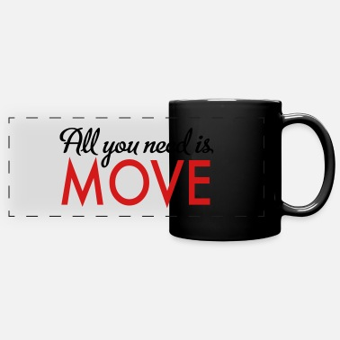 Move move - Full Color Panoramic Mug