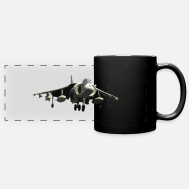 Fighter Jet fighter jet - Full Color Panoramic Mug