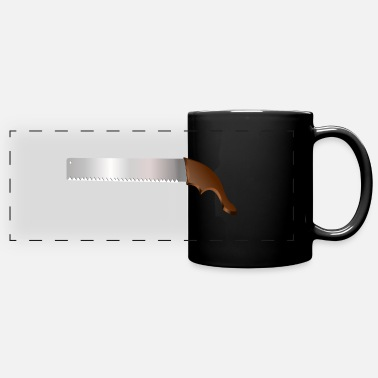 Saws saw - Full Color Panoramic Mug