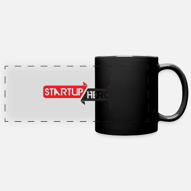 Startup startup hero - Full Color Panoramic Mug