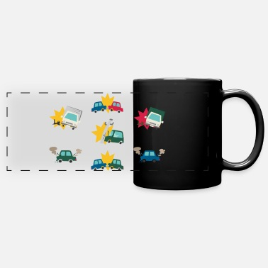 Accident Motor Vehicle Accidents - Full Color Panoramic Mug