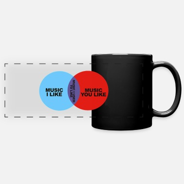 Crowds it crowd - Full Color Panoramic Mug
