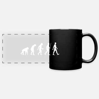 Evolutionary History Evolution of human evolution history - Full Color Panoramic Mug
