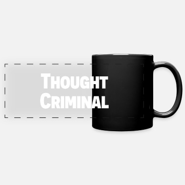 Donald Trump Thought Criminal - Full Color Panoramic Mug