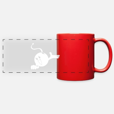 Mascot Cute Cartoon Character - Full Color Panoramic Mug