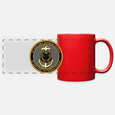 Starfleet Starfleet Marines Con-minimum unisex camo shirt - Full Color Panoramic Mug