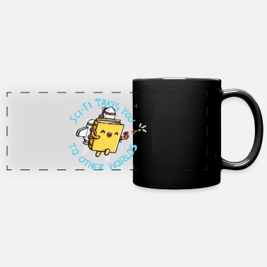 Fantasy SCI FI TAKES YOU TO OTHER WORLDS - Full Color Panoramic Mug