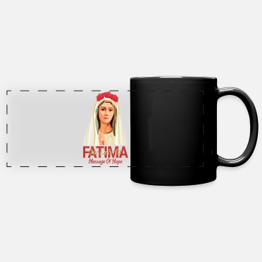 Our Lady Church Our Lady Of Fatima - Full Color Panoramic Mug
