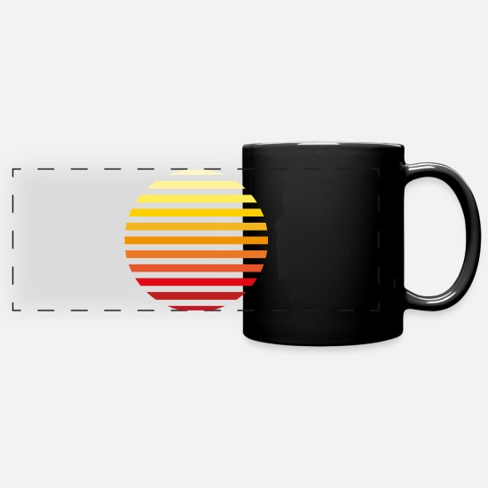 Sunrise Mugs & Drinkware - sunrise - Full Color Panoramic Mug black