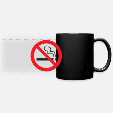 Non-smoking non smoking - Full Color Panoramic Mug