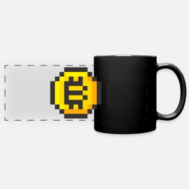 8 8-BIT COIN - Full Color Panoramic Mug