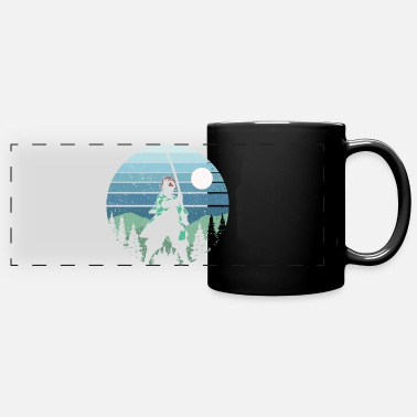 Anime Retro Tanjirou Anime Kimetsu No Yaiba - Full Color Panoramic Mug