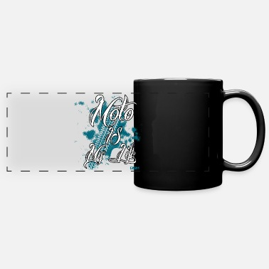 Attractive MOTO - Full Color Panoramic Mug
