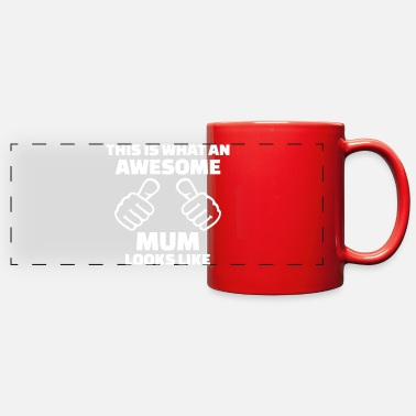 Mum Mum - Full Color Panoramic Mug