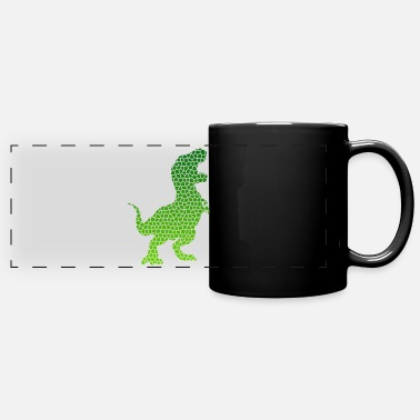 Mother Of The Year Mosaic T-Rex Dinosaurs Gift Idea - Full Color Panoramic Mug