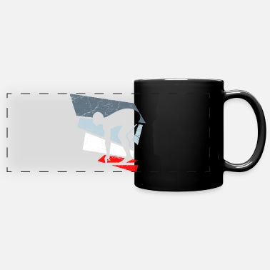 Swimmer swimmers swimmers - Full Color Panoramic Mug
