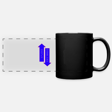 Download UPLOAD DOWNLOAD - Full Color Panoramic Mug