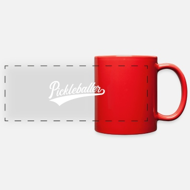 Net Pickleball - Full Color Panoramic Mug