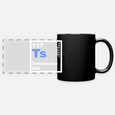 Atom 117 Tennessine - Full Color Panoramic Mug