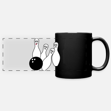 Bowling Design Bowling - Full Color Panoramic Mug