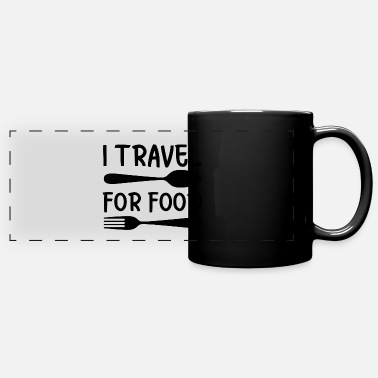 Pizza Travel food cooking saying gift - Full Color Panoramic Mug