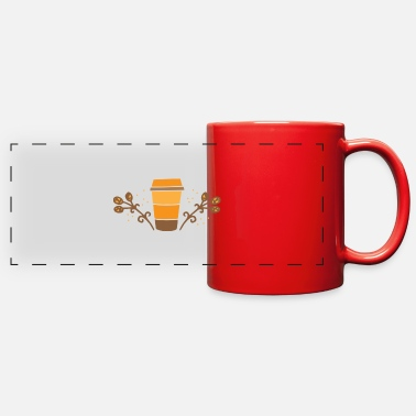 Pumpkin Spice Latte spiced pumpkin latte - Full Color Panoramic Mug