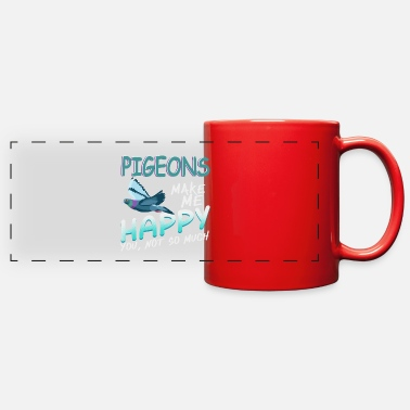 Egg Pigeon - Full Color Panoramic Mug
