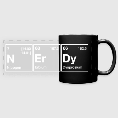 NErDy Periodic Table Word - Full Color Panoramic Mug