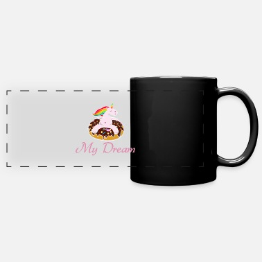 Stylish Unicorn - Full Color Panoramic Mug